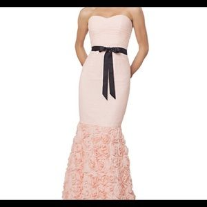 Brand new JS rose strapless gown size 12